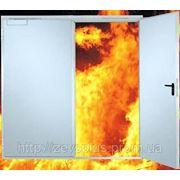 Противопожарные ворота, ворота промышленные противопожарные фотография