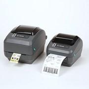 Принтер термо печати этикеток ZEBRA GK 420 D фото
