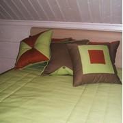 Декоративные подушки из испанских тканей, поставщик B&C fabrics, пошив на заказ, индивидуальный подход, дизайн, ткань Испания, производство Испания фото