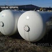 Газгольдер (СУГ) фото