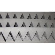 Акустический поролон «пирамида» лист 1х2м толщина 70мм фото