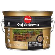Альтаксин масло для древесины, 2,5л — колерованное фото