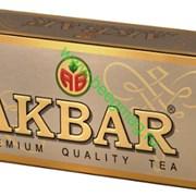 Чай Акбар золотой с/я 25 пак фото