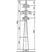Опора ВЛ 110 кВ 1П110-4