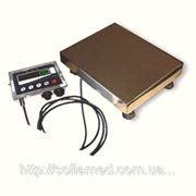 Весы платформенные электронные пыле-влагозащищенного исполнения фото
