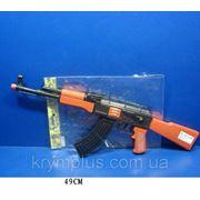 Автомат-трещетка AK47-112 в пакете 49см фото