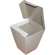 Коробка для китайской лапши готовая 55x95x110 мм фото