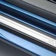 Накладки Декоративные порогов Audi A3 фото