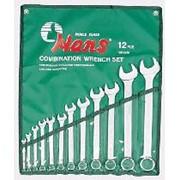 Комплект ключей комбинированных 15 предметов HANS 16615M фото