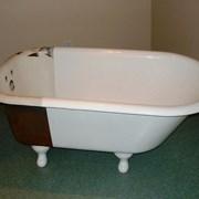 Реставрация ванн. Жидкий акрил ванна фото