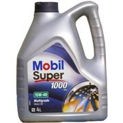 Mobil Super 1000 15W-40 4л фотография