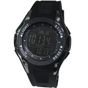 Рыбацкие часы барометр со штормовой тревогой водонепроницаемые FX702B фото