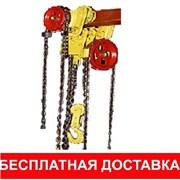 Таль ручная червячная г/п от 1-8т h подъема 12м фото