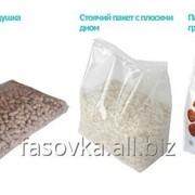Упаковочная линия для весовой дозировки и фасовки сыпучих продуктов в пакеты фото