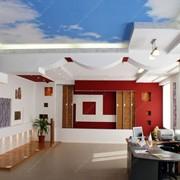 Дизайн и фотопечать потолков фото