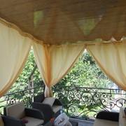 Как сделать шторы для веранды 298