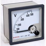 Аналоговый вольтметр 0-500В панельный щитовой 96х96 мм стрелочный цена переменного тока шкаф фото фото