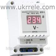 Вольтметр цифровой переменного тока (100...400В) ВМ-220/D1 фото