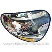 Выпуклое треугольное зеркало К 33х33х38 фото