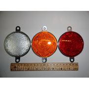 Светоотражатель круглый безцветный ФП-310