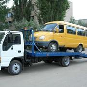Эвакуация легковых авто и микроавтобусов фото