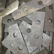 Молоток дробилки 215х50х4 фото