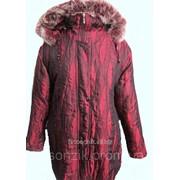 Куртка женская листики 88-1 фото