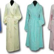 Махровые халаты (мужские, женские, детские) фото