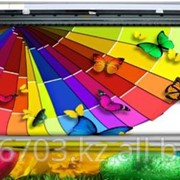 Полноцветная печать на перфорированной пленке фото
