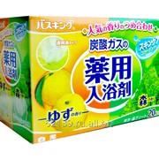 """""""Hakugen"""" """"Bath king"""" соль для ванны с восстанавливающим эффектом на основе углекислого газа фото"""