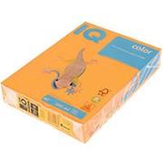 Бумага А4 IQ 80 г/м2, оранжевый неон (500л) фото