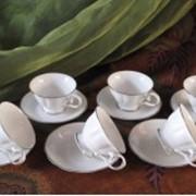Набор чайных пар Глория фото