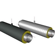 Элемент трубопровода с кабелем вывода в ППУ изоляции фото