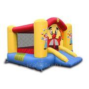 Happy Hop 9201 Батут надувной с горкой Клоун