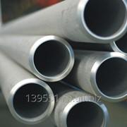 Труба 32.0x1.5, AISI201, 12X15Г9НД, Grit600, EN 10217-7, DIN фото