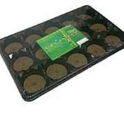 Комплект для рассады с торф.таблетками d-41мм 12таблеток /44/ фото
