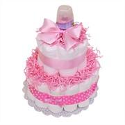 """Торт из подгузников """"Little Girl"""" фото"""