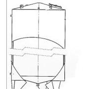 Резервуар вертикальный со змеевиком охлаждения РВО -10,0.2.Т.К.0.3.0 ПС фото