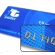 Эмбоссирование пластиковых карточек фото