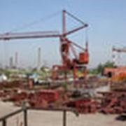 Ремонт элементов металлоконструкций мостовых, козловых, стреловых кранов с применением сварки фото
