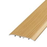 ЛУКА Порог стыкоперекрывающий со скрытым крепежом ПС 07-2-1800-083н бук натуральный (1,8м) 60мм фото