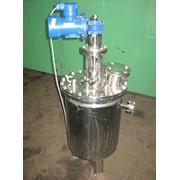 Реактор фармацевтический для смешивания сыпучих компонентов фото