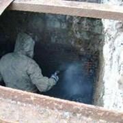 Чистка и восстановление дренажа сливных ям. фото