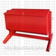 Ящик для песка 0,35 м.куб. (перекидной) фото