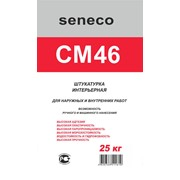Интерьерная цементная штукатурка Seneco CM46. фото