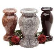 Вазы из гранита / гранитные вазы фото