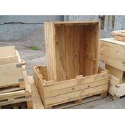 Деревянная тара. фото