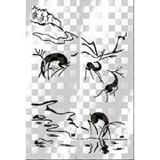 Обработка пескоструйная на 2 стекло артикул 105-01 фото