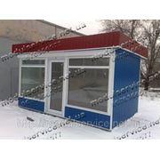 Модульное здание, магазин, бутик, павильон, киоск, изготовление Украина фото