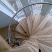 Лестницы хребтовые, больцевые, сборные лестницы фото